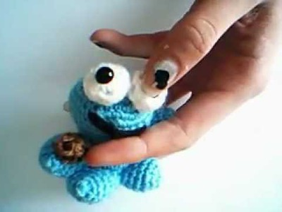Crochet coockie monster (no tutorial!). Gehaakte coockie monster (geen tutorial!)