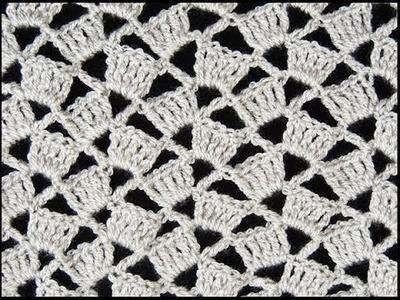 Crochet : Punto Escalera #  3