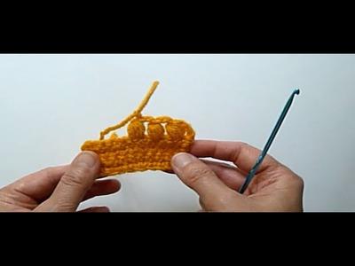 Crochet Tutorial - CLUSTER or PUFF STITCH (Jak Se Hackuji Pecicky)