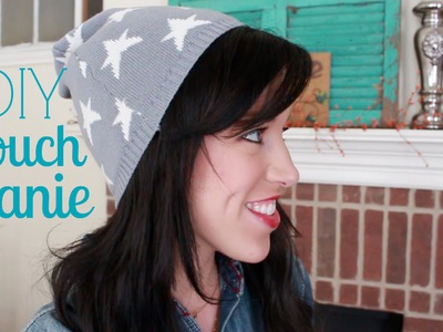 Cute & Easy DIY Slouch Beanie