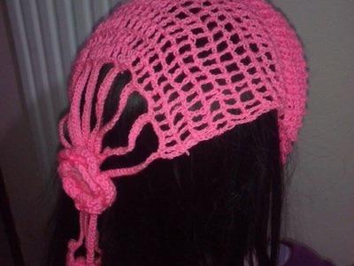 Diadema. cintillo Para el Cabello En crochet