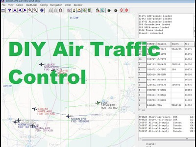 DIY Air traffic Control via ADS-B with Cheap USB SDR- Tutorial
