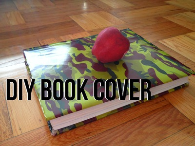 DIY: Book Cover from a Paper Bag