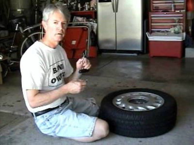 DIY Car Tire Repair WHEN SHOP WILL NOT FIX IT - Emergency use only - how to fix a car tire for $4