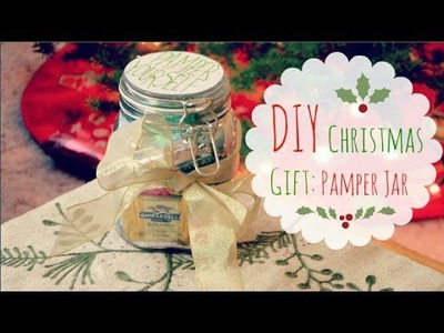 DIY Christmas Gift Idea: Pamper Jar