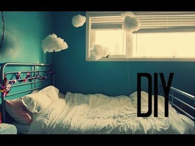 DIY: Decora tu cuarto❤ Aves y nubes.☁