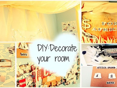 DIY Decorate Your Room (Simple and Affordable)