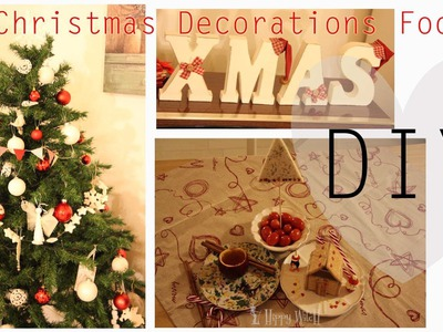 DIY:Decoriamo il nostro menu di Natale- Christmas Decorations Food -