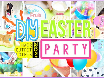 ♡ DIY Easter Party: Hair, Outfit, Treats, Gifts, Decor + MORE! | AlohaKatieX ♡