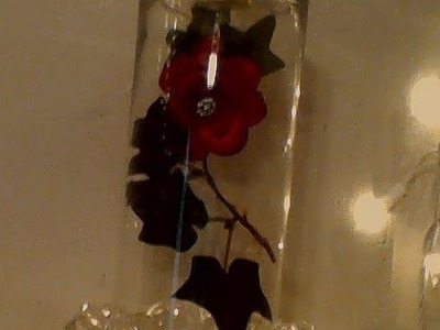 ♥♥♥DIY Enchanted Beauty & The Beast Floating Rose♥♥♥