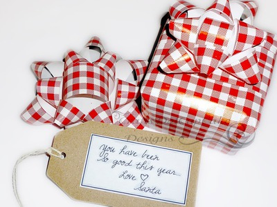 DIY - Gift Bow * Matching Wrapping Paper *
