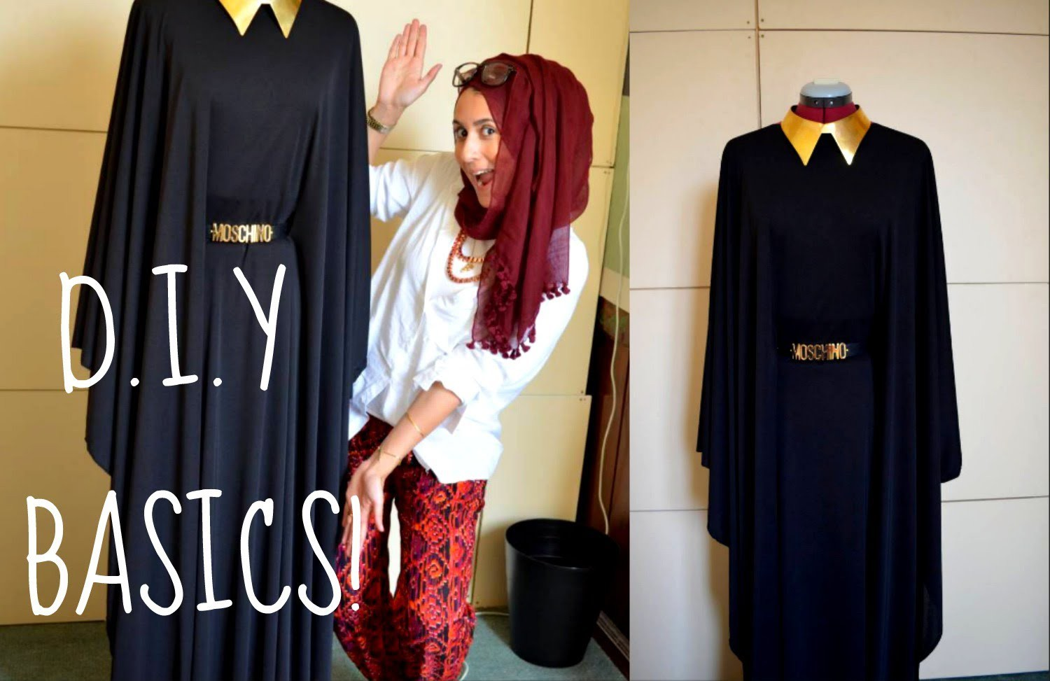 DIY HOW TO MAKE YOUR OWN ABBAYA.DRESS!