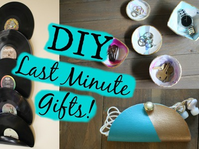 DIY Last Minute Christmas Gifts! CHEAP + EASY!
