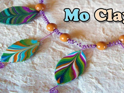 DIY - Leaves, Easy polymer clay tutorial- Foglie Paste Sintetiche - Hojas en arcillas polimericas