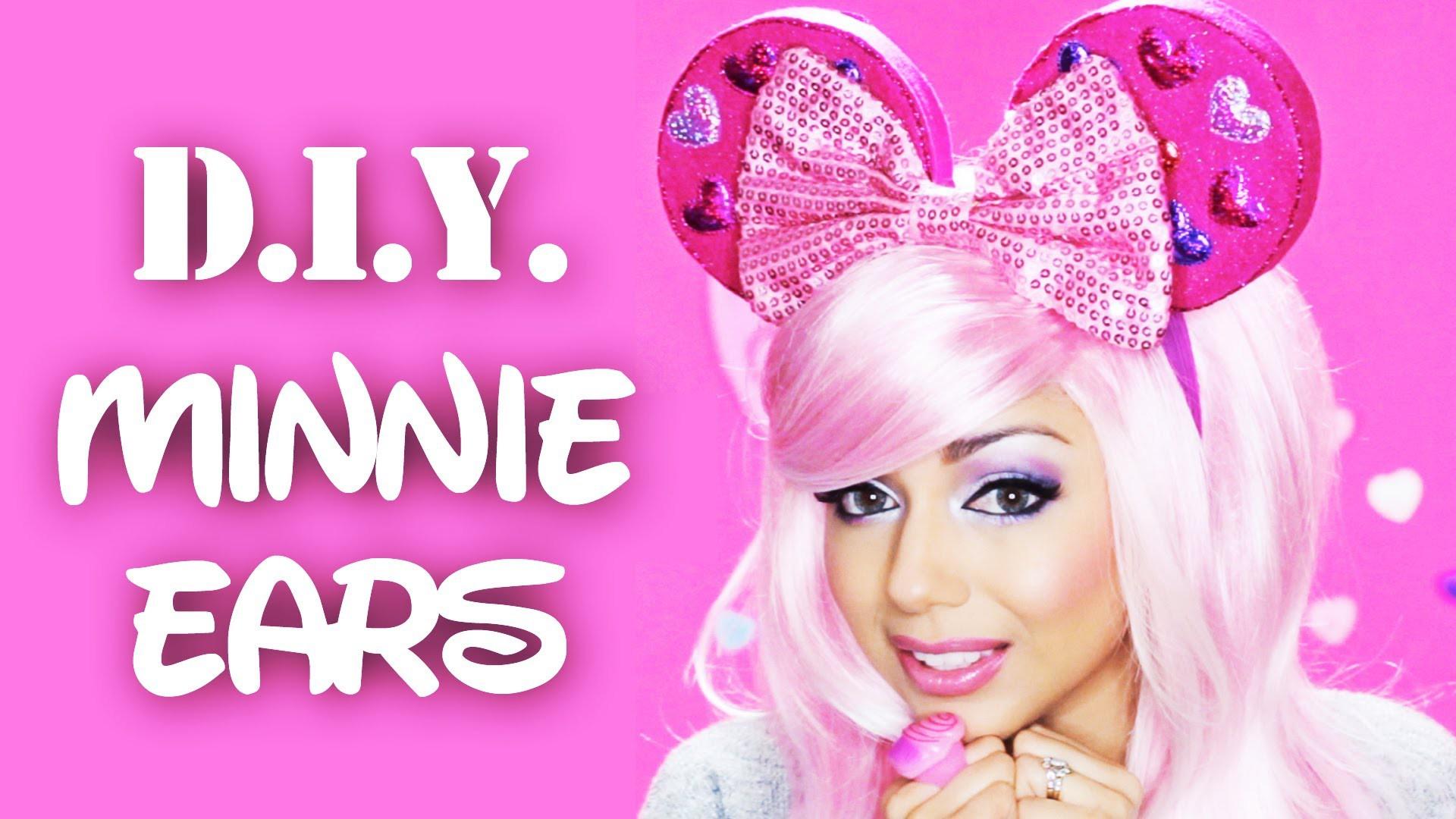 DIY Minnie Ears!