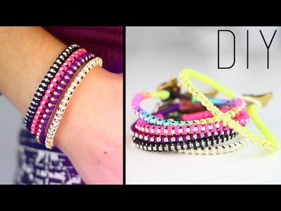 DIY : Rhinestone wrap bracelet - bracelet strass. friendship bracelet with english subtitles