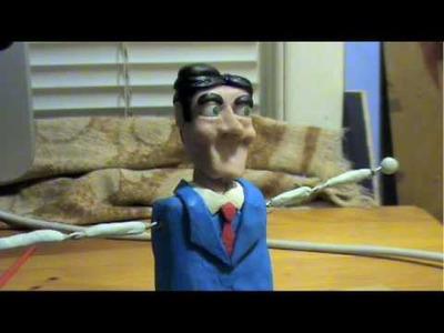 DIY Sculpting Puppet making Claymatorx tutorial