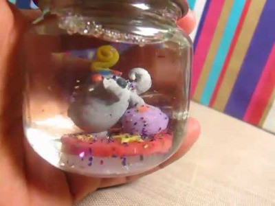 DIY Snow Globe :D (Craft Update#3)
