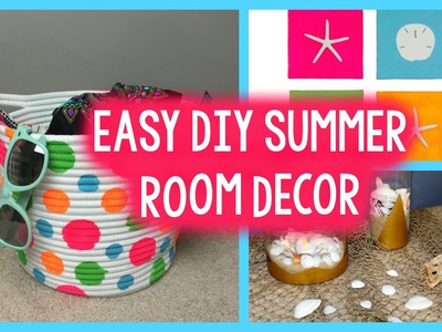 DIY SUMMER ROOM DECOR | TUMBLR INSPIRED