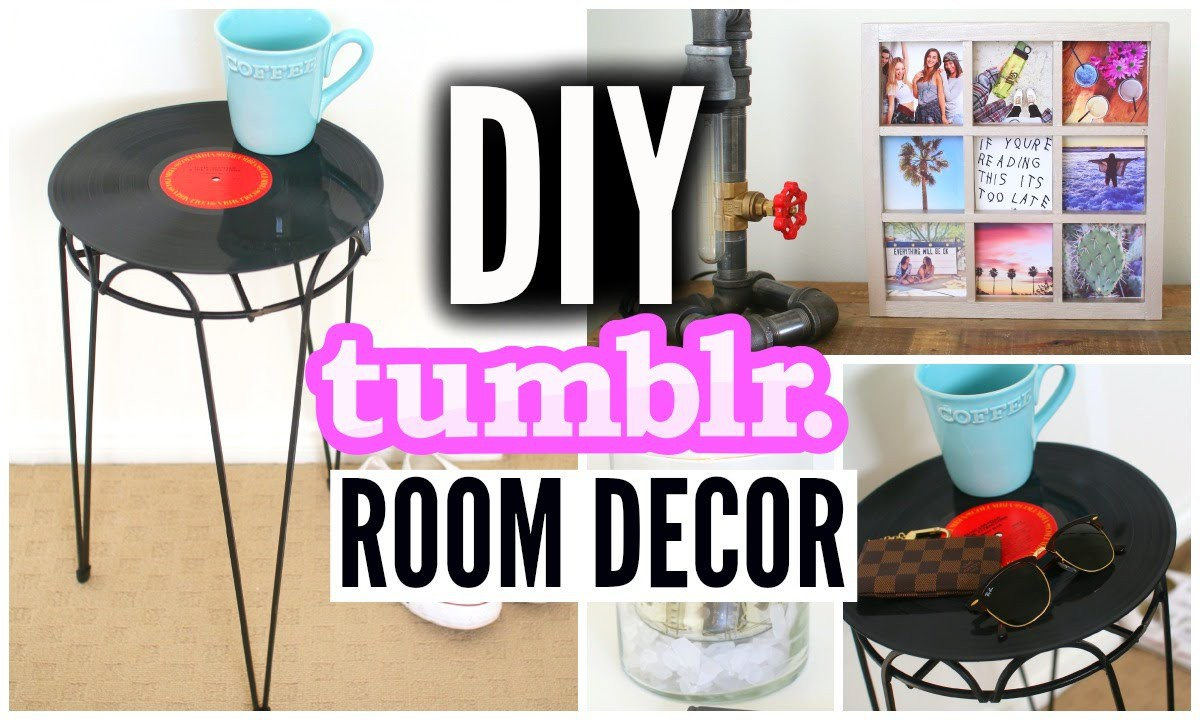 DIY Tumblr Inspired Room Decor! Affordable Room Decorations!