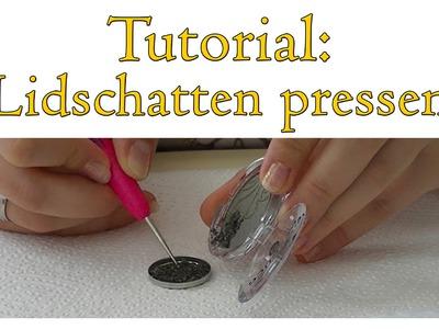 DIY TUTORIAL | Lidschatten für eigene Palette pressen! | Kosmetik Kosmo, Essence [HD+]