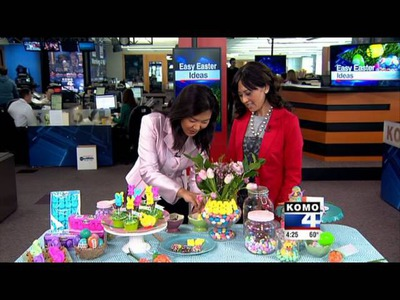 Easter Party Ideas with KOMO-TV DIY Diva Malia Karlinsky