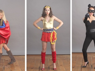 Effortless DIY Superhero Halloween Costumes | Style Squad