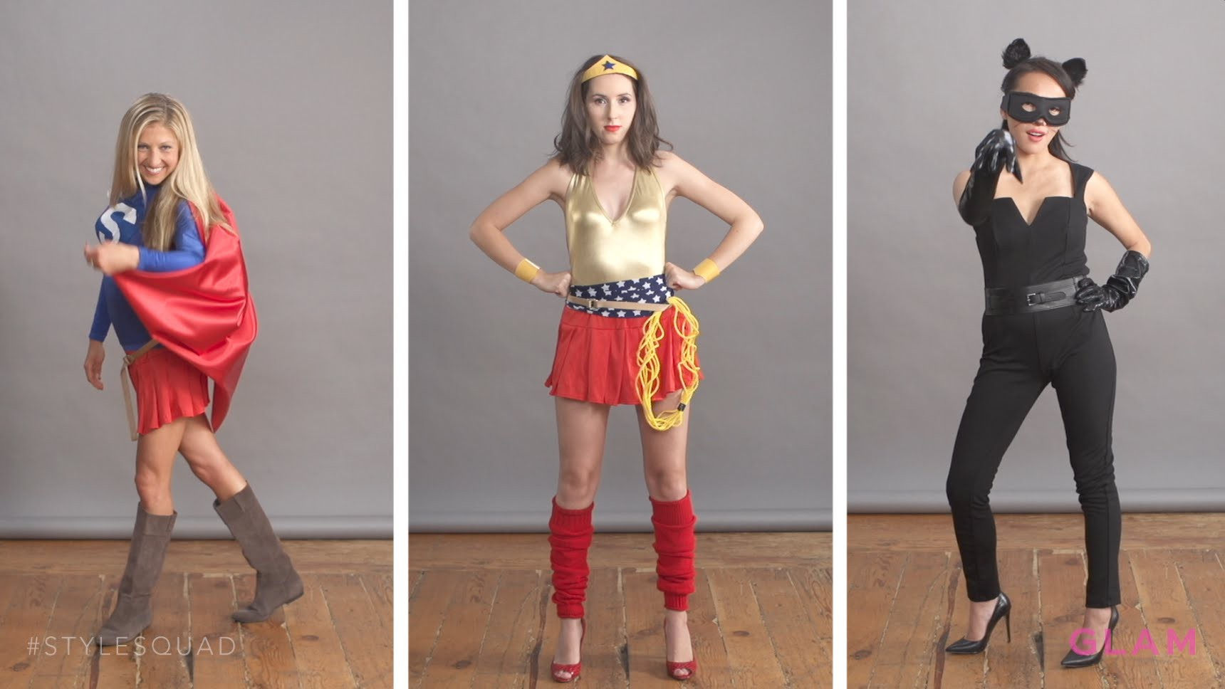 Effortless DIY Superhero Halloween Costumes | Style Squad