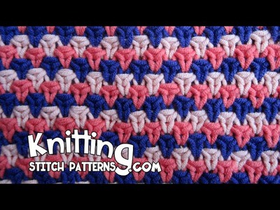 English Rose Tweed stitch
