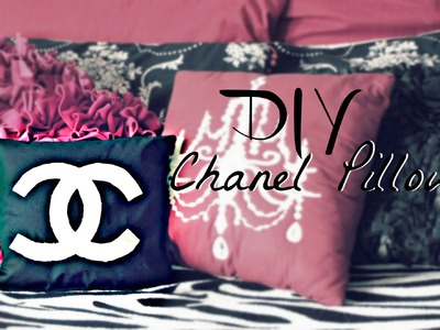 How To: DIY Chanel Inspired Pillow - Belinda Selene