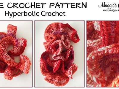 Hyperbolic Surfaces Free Crochet Pattern - Right Handed