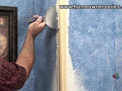 Installing Round Corner Bead - Drywall Repair - Part 1 of 3