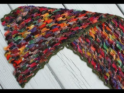 Interlocking Crochet Scarf Tutorial