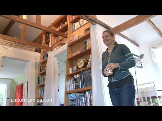 Livework family of 3 DIY small home remodel