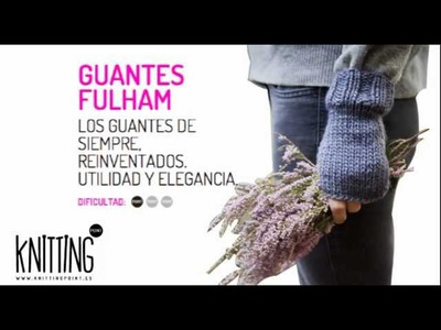 Los Guantes de punto Fulham, de Knitting Point