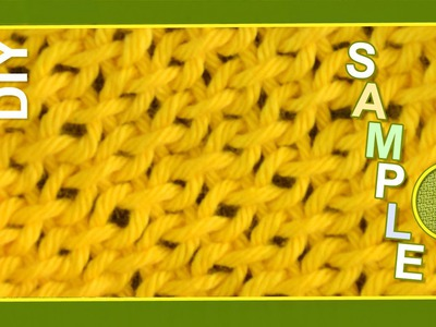 Macrame ABC - pattern sample #8