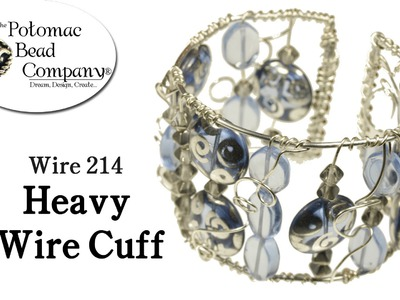 Make a Heavy Wire Cuff DIY Bracelet