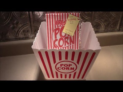 Movie Theater Birthday Party DIY Favors