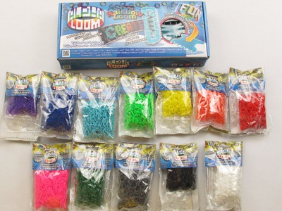 Rainbow Loom vs. Alpha Loom Review + How to Tutorial Rainbow Bracelet.Cuff