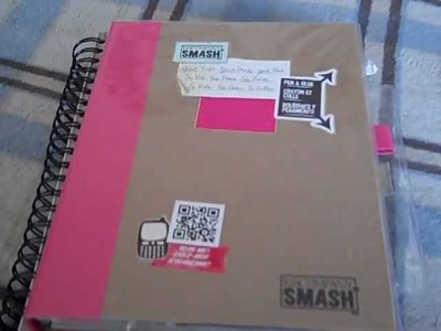 Smash Book pages & DIY Smash Book