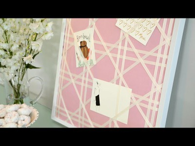 Suite Living: DIY Message Board