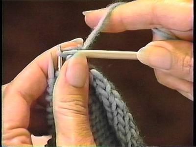Sweater Finishing: Three-Needle Bind Off