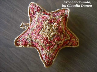 THE CHRISTMAS STAR (CROCHETED). LA ESTRELLA DE BELÉN AL CROCHET