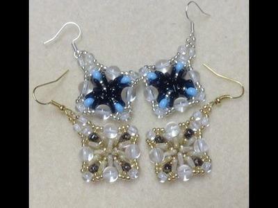 Triangle Dangle Earrings Tutorial