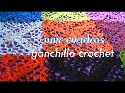 #Unir #Cuadro #Tejido Ep1 Ganchillo Crochet
