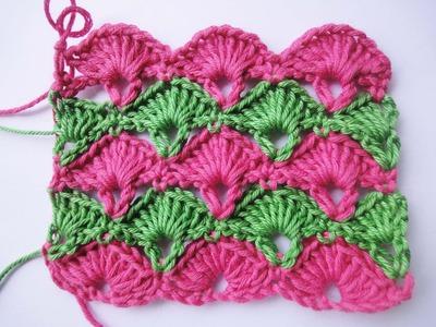 """Узор """"ВЕЕР"""" Crochet Pattern"""