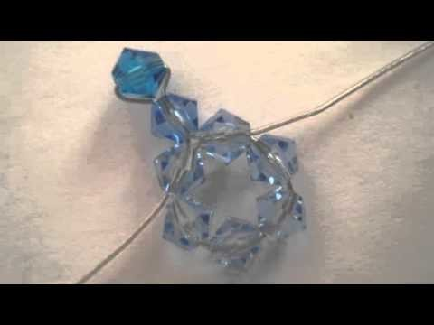 12 Days of Xmas Tutorial: Day 6 - Snowflake Earrings
