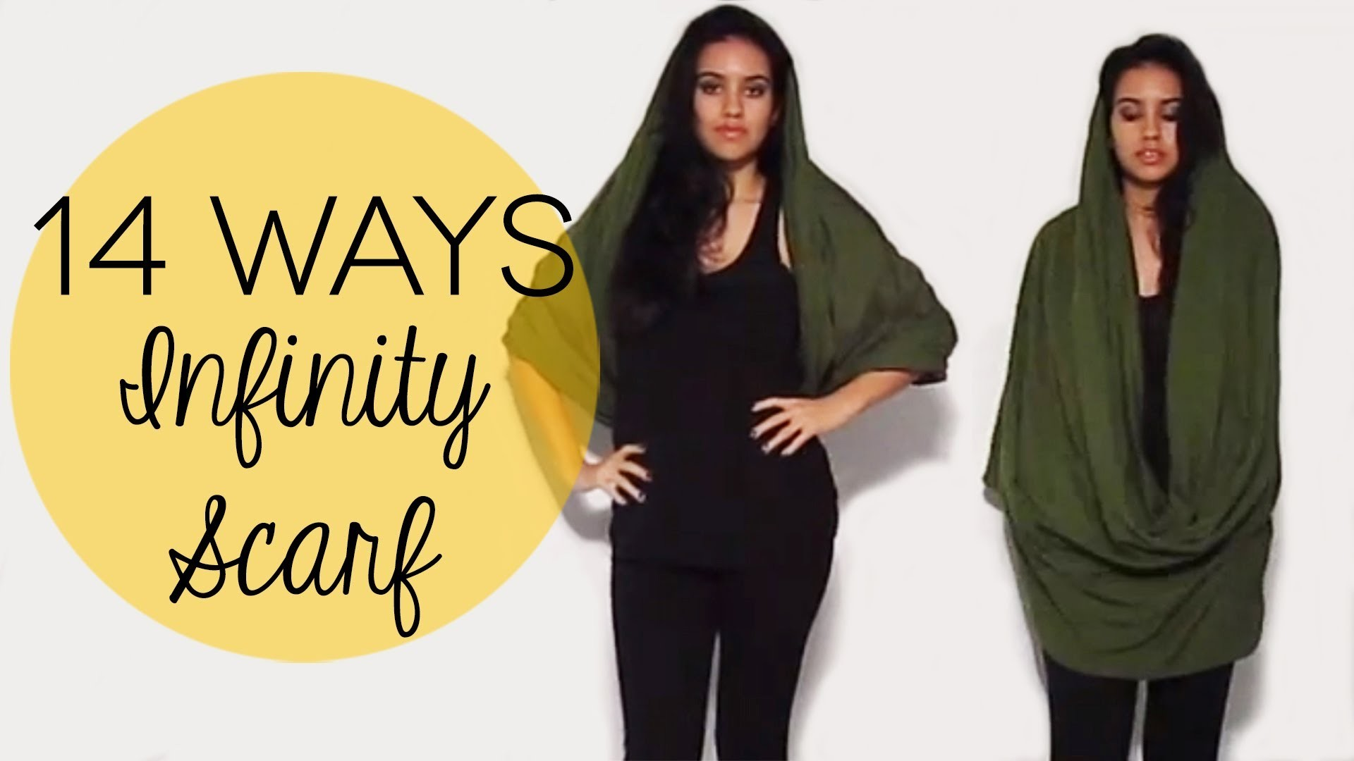 14 Ways to Wear an Infinity Scarf