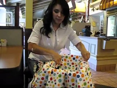 Babee Covee Tutorial: High Chair Cover*