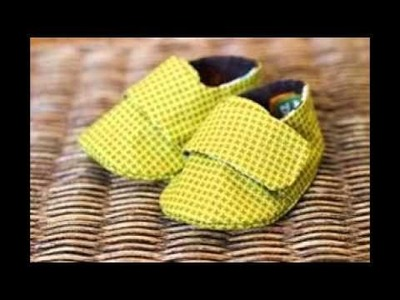 Baby Shoes Sewing Pattern